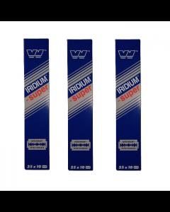 wizamet super iridium 750 razor blades