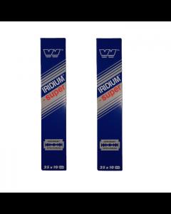 wizamet super iridium 500 razor blades